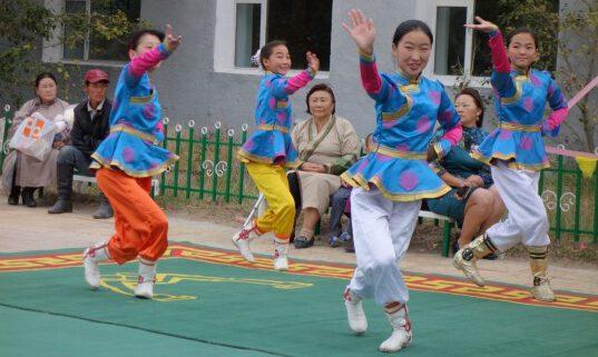 Mongolischer Tanz