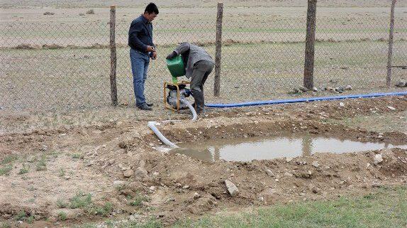 Tröpfchen-Bewässerungsanlage